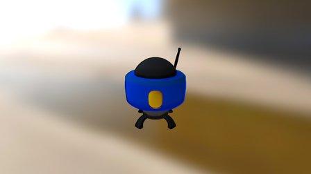 Starcrafts Widow Mine 3D Model