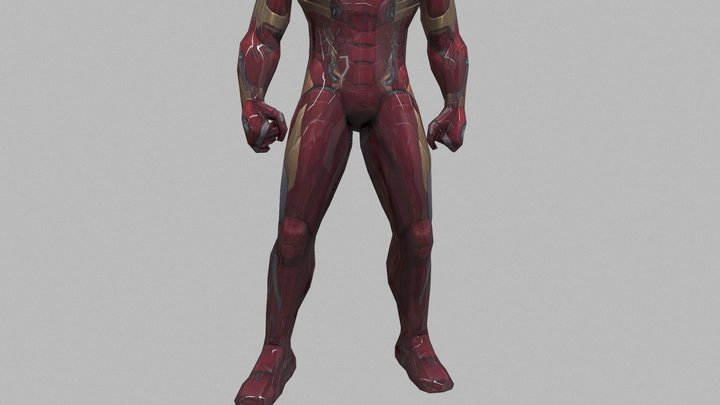 Ironman | Real Animtions | By Im HaxoTV 3D Model