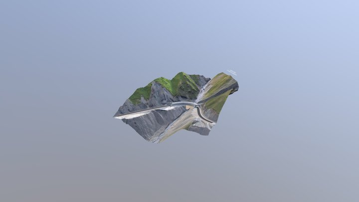 Gallery on km339+900 of Jalalabad - Balykchy, KG 3D Model