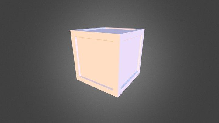 Cartoon Box 3D Model