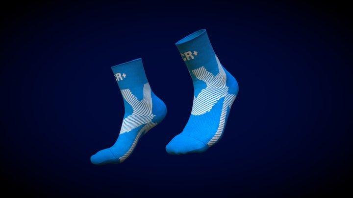 New Chilles Creative Socks 3D Model