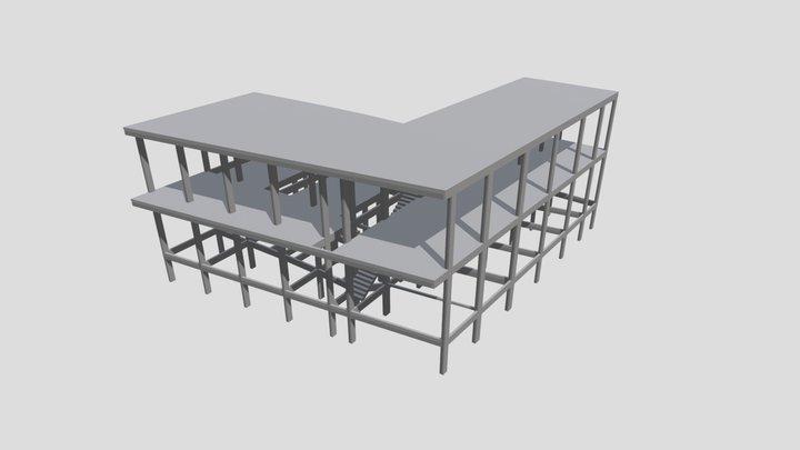 Projeto Estrutural - Edificação FM 3D Model