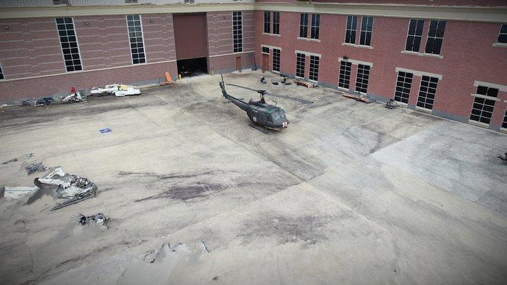 NTSB Vietnam UH-1 Huey 3D Model