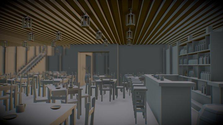 Tavern (Ver1) 3D Model