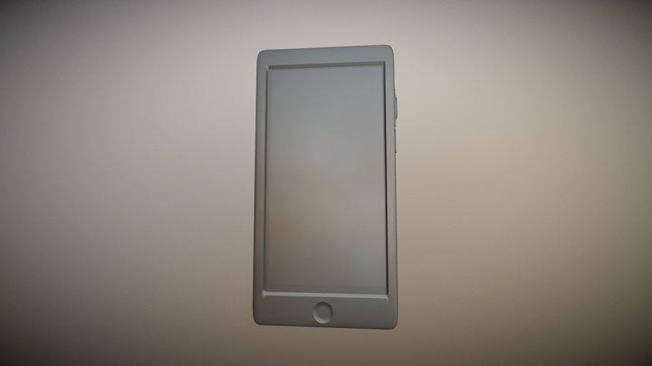 Sleek and simple smartphone 3D Model