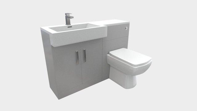 Bathroom unit example 3D Model