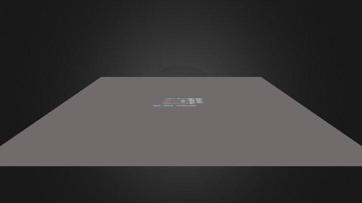 Tloris - Ljubljana 3D Model