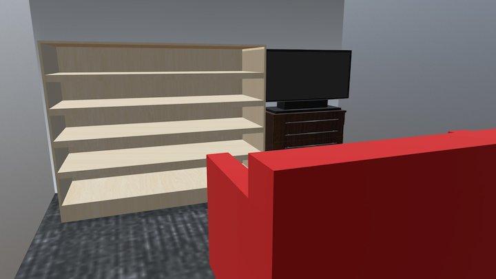 A small room 3D Model