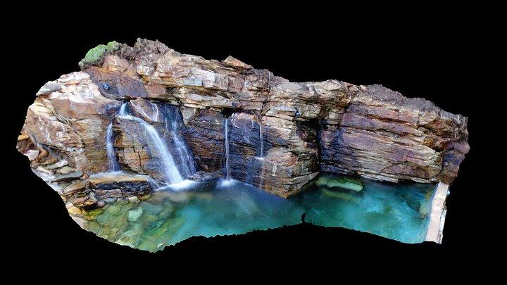 Água Quente - Felício dos Santos - MG 3D Model