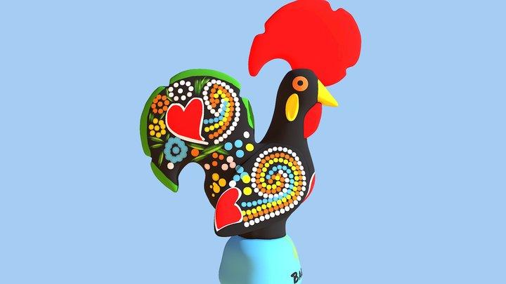 Galo De Barcelos - Rooster of Barcelos 3D Model