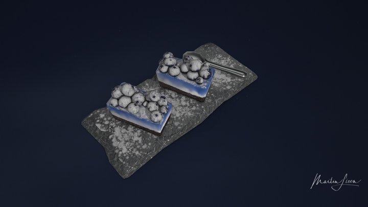 Assets-Blue001 3D Model