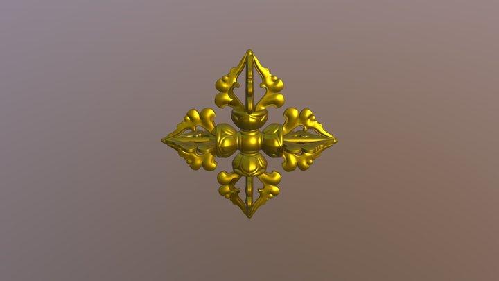 Double Dorje 3D Model