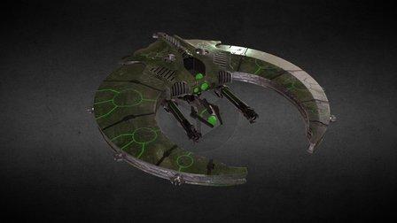 Necron Doom Scythes 3D Model