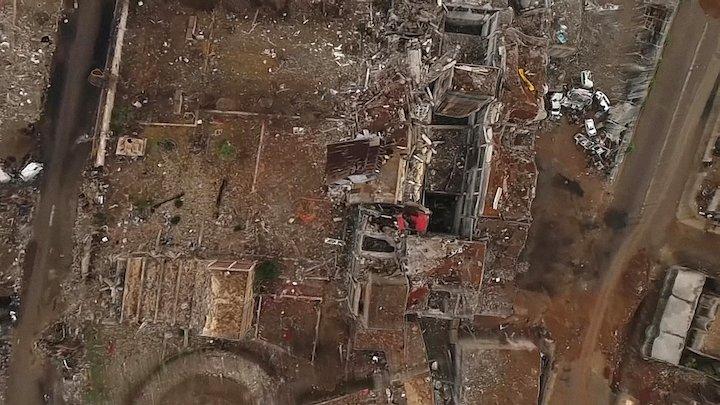The extent of Mosul destruction - 10112017 3D Model