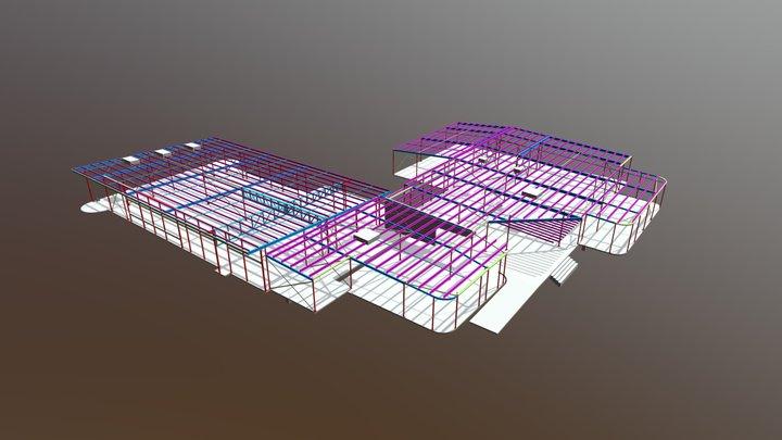 Sunbury Community Learning Hub 3D Model