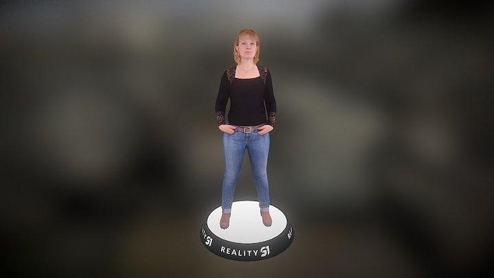 Human Scan 1315 3D Model