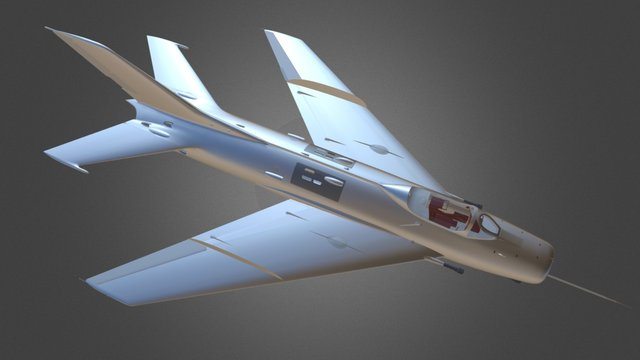MiG-19S Test Exp 9 3D Model