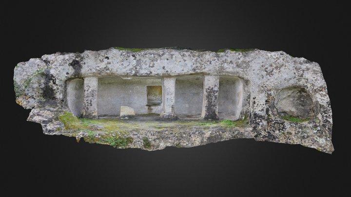 Monumental prehistoric tomb from Castelluccio 3D Model