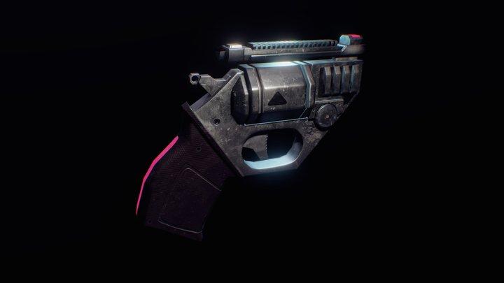 Revolver XYZ 3D Model