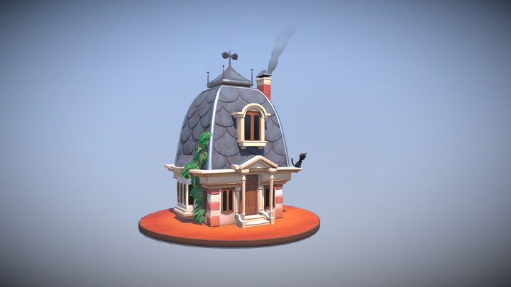 The house 3D Model