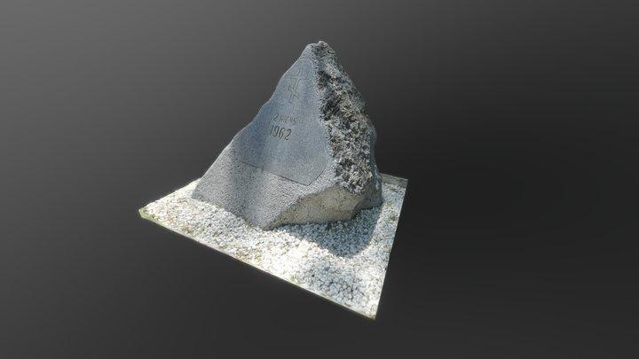 Stone 3D Model