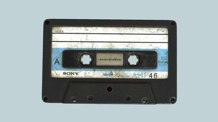 Old Cassette 3D Model
