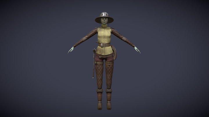 Anra 3D Model