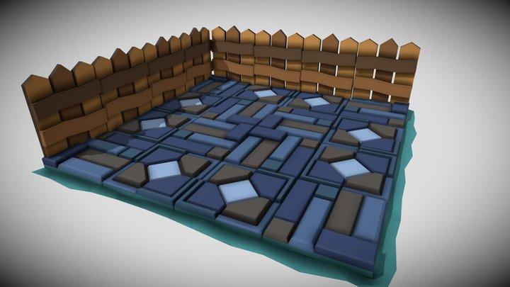 Modular Environment 3D Model