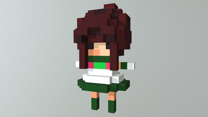 Jupiter Girl 3D Model