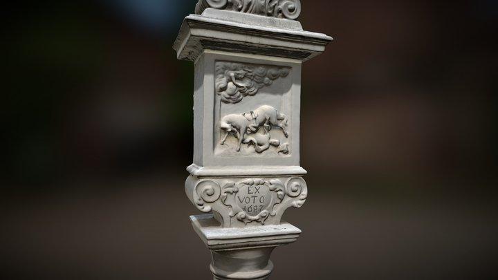 Votive Column in Vienna Meidling 3D Model