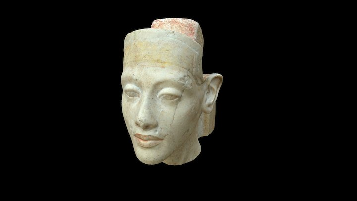 Echnaton - Museum August Kestner - 3D Scan 3D Model