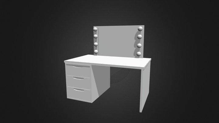 makeup vanity 3D Model
