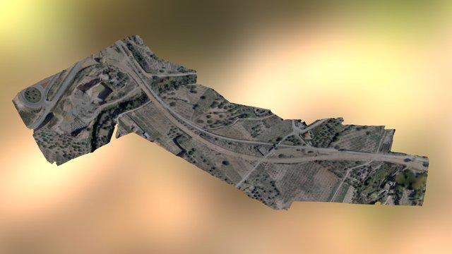 4DMetric MDS traza carretera 3D Model