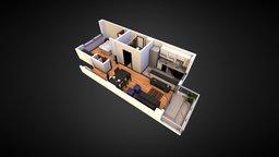 2 Ambientes 3D Model