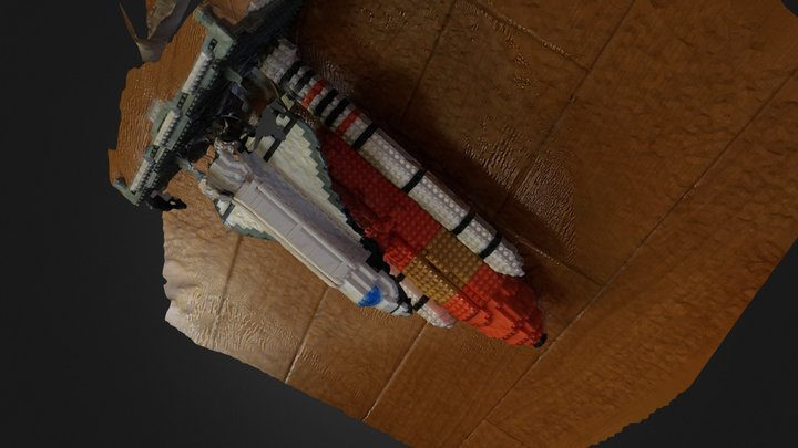 Space Shuttle Kimura-2014-12-14 3D Model