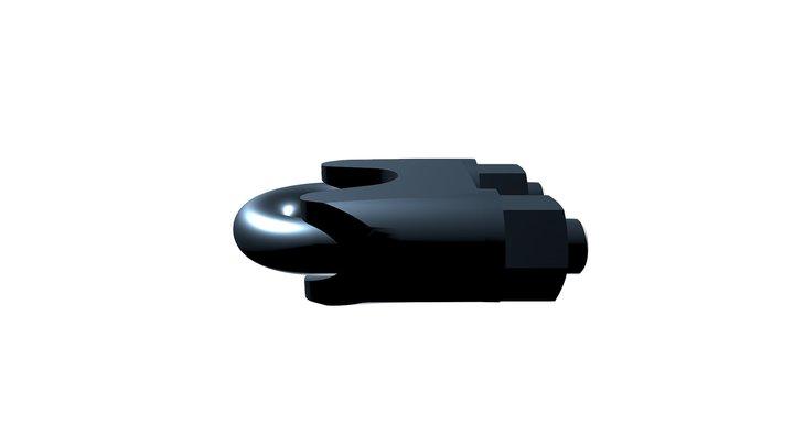 Зажим троса DIN 1142 усиленный 3D Model