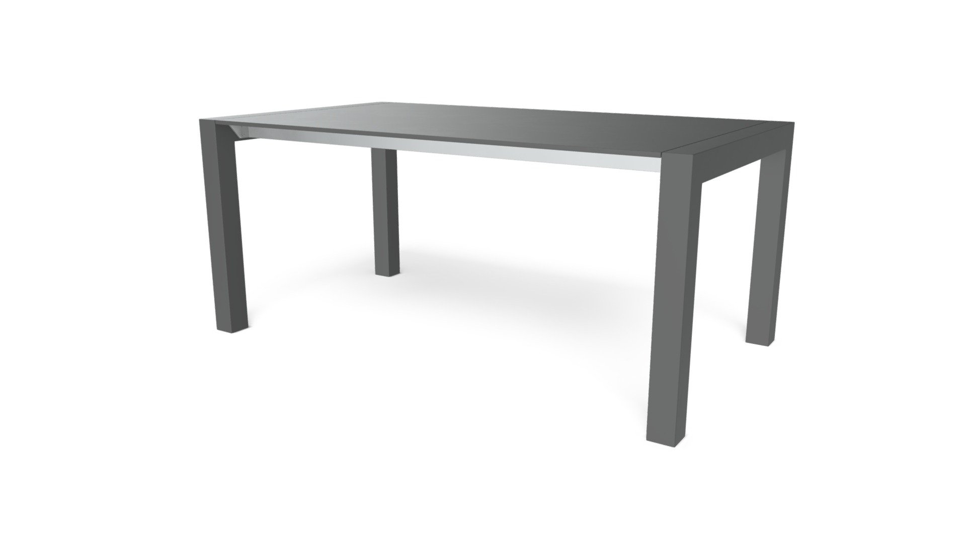 Bramante Extending Dining Table Matt Grey Download Free 3d Model By Made Com Made It Ebb2d9f Sketchfab