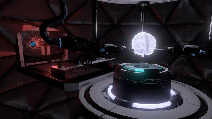 Brain Lab 3D Model