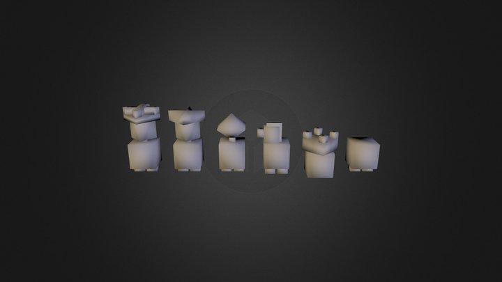 chess_2014_10 3D Model