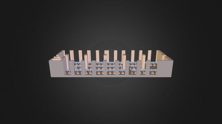 план 1 этаж(начало) 3D Model