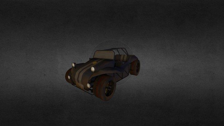 VW Buggy 3D Model