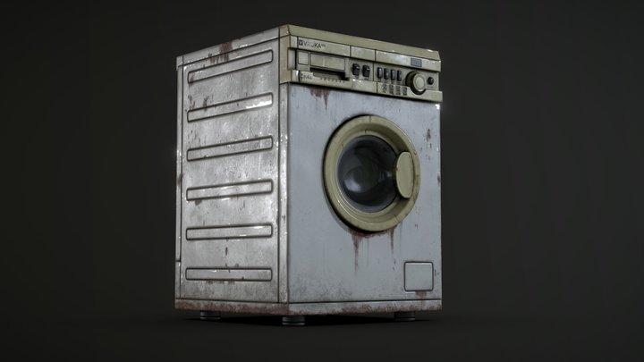 Vintage Wash Mashine 3D Model