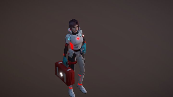 Sci Fi Medic 3D Model
