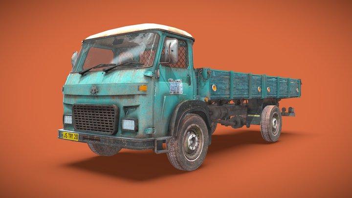 Gameready Truck 3D Model