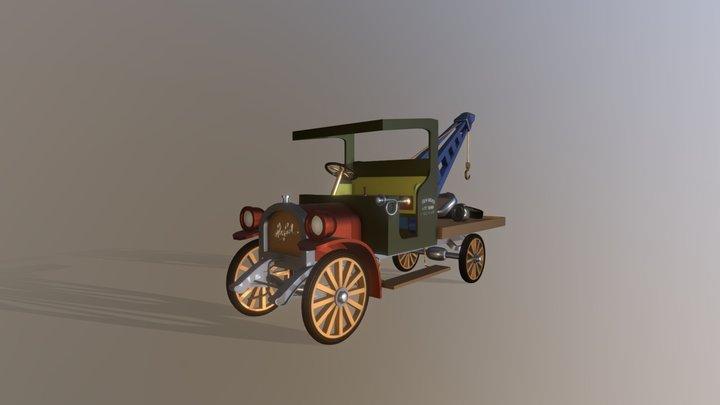 towing3 3D Model