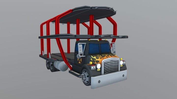 Big Rigg Boss 3D Model