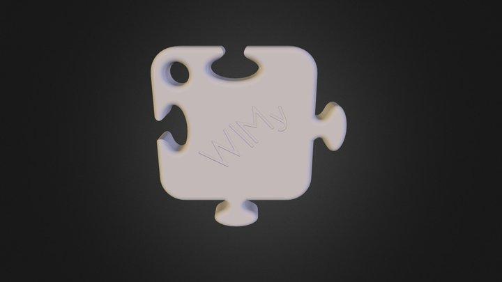 WIMy White 3D Model