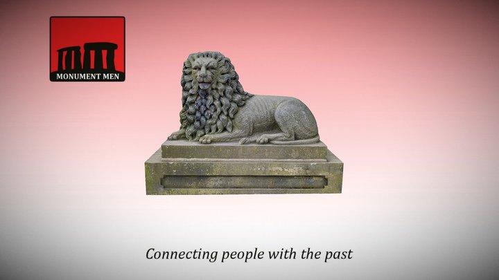 The Gasworks Lion - Haigh Woodland Park 3D Model