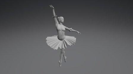 150819 Ballerina 3D Model