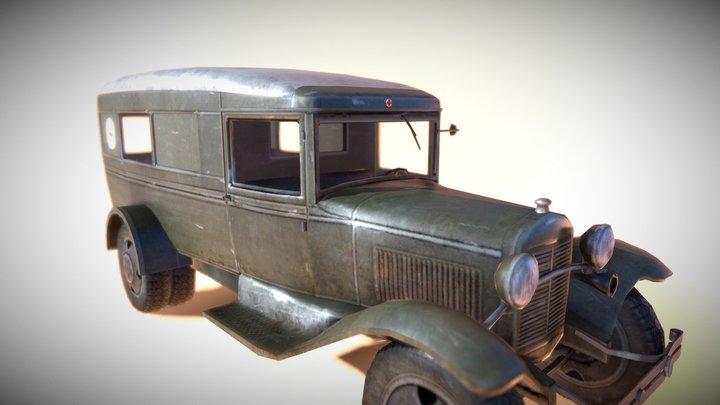 Medical Truck 3D Model